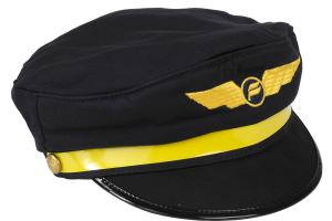Pilot hats for kids with Icelandair logo