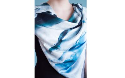 Silk Scarf from Memo Iceland