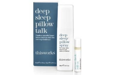 Deep sleep pillow talk from THISWORKS®