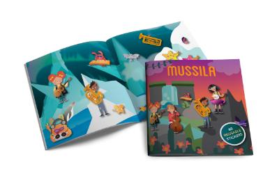 Mussila Sticker book