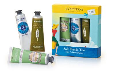 Soft hands trio from L'Occitane 3 x 30 ml