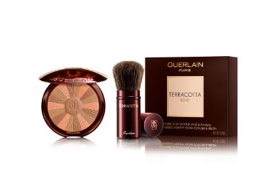 Terracotta from Guerlain light set