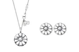 Set from Georg Jensen, Daisy