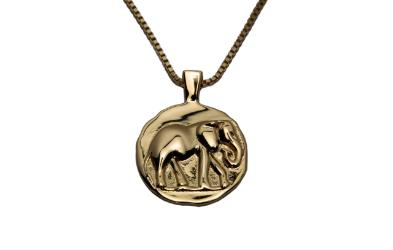 Trust Necklace from Vera Design gold plated