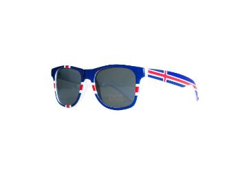 Sunglasses w. icelandic flag